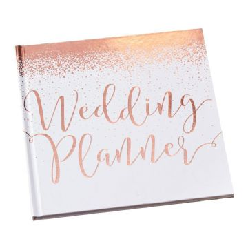 Rose Gold Wedding Planner Book